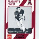 1989 Alabama Coke 580 Football #480 Butch Henry - Alabama Crimson Tide