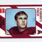 1989 Alabama Coke 580 Football #479 Neb Hayden - Alabama Crimson Tide