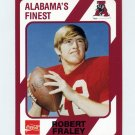 1989 Alabama Coke 580 Football #465 Robert Fraley - Alabama Crimson Tide