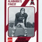 1989 Alabama Coke 580 Football #459 Hugh Morrow - Alabama Crimson Tide