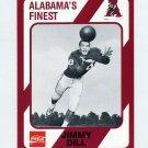 1989 Alabama Coke 580 Football #455 Jimmy Dill - Alabama Crimson Tide