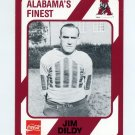1989 Alabama Coke 580 Football #453 Jim Dildy - Alabama Crimson Tide