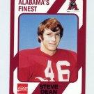 1989 Alabama Coke 580 Football #450 Steve Dean - Alabama Crimson Tide