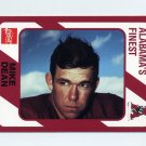 1989 Alabama Coke 580 Football #449 Mike Dean - Alabama Crimson Tide