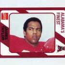 1989 Alabama Coke 580 Football #439 James Taylor - Alabama Crimson Tide