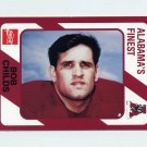 1989 Alabama Coke 580 Football #431 Bob Childs - Alabama Crimson Tide