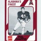 1989 Alabama Coke 580 Football #429 Phil Chaffin - Alabama Crimson Tide