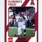 1989 Alabama Coke 580 Football #428 David Casteal - Alabama Crimson Tide