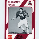 1989 Alabama Coke 580 Football #410 Bill Blair - Alabama Crimson Tide