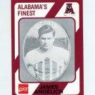 1989 Alabama Coke 580 Football #407 James Angelich - Alabama Crimson Tide