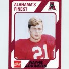 1989 Alabama Coke 580 Football #403 Wayne Adkinson - Alabama Crimson Tide