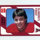 1989 Alabama Coke 580 Football #401 Larry Abney - Alabama Crimson Tide
