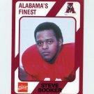 1989 Alabama Coke 580 Football #400 Steve Booker - Alabama Crimson Tide