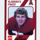1989 Alabama Coke 580 Football #399 Jay Grogan - Alabama Crimson Tide