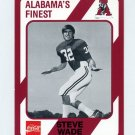 1989 Alabama Coke 580 Football #392 Steve Wade - Alabama Crimson Tide
