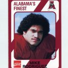 1989 Alabama Coke 580 Football #391 Mike Rodriguez - Alabama Crimson Tide