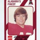1989 Alabama Coke 580 Football #389 John David Crow Jr. - Alabama Crimson Tide
