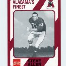 1989 Alabama Coke 580 Football #388 Steve Allen - Alabama Crimson Tide