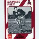 1989 Alabama Coke 580 Football #379 Ed White - Alabama Crimson Tide