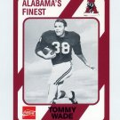 1989 Alabama Coke 580 Football #375 Tommy Wade - Alabama Crimson Tide