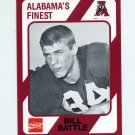 1989 Alabama Coke 580 Football #365 Bill Battle - Alabama Crimson Tide