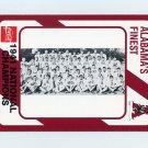 1989 Alabama Coke 580 Football #359 The 1941 National Champions