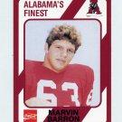 1989 Alabama Coke 580 Football #351 Marvin Barron - Alabama Crimson Tide