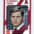 1989 Alabama Coke 580 Football #350 John Byrd Williams - Alabama Crimson Tide