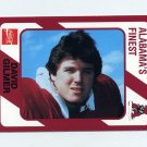 1989 Alabama Coke 580 Football #344 David Gilmer - Alabama Crimson Tide