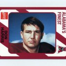1989 Alabama Coke 580 Football #339 Don Harris - Alabama Crimson Tide