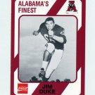 1989 Alabama Coke 580 Football #338 Jim Duke - Alabama Crimson Tide