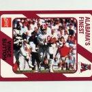 1989 Alabama Coke 580 Football #329 Vince Sutton - Alabama Crimson Tide