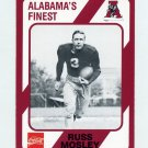 1989 Alabama Coke 580 Football #327 Russ Mosley - Alabama Crimson Tide