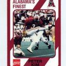 1989 Alabama Coke 580 Football #321 Peter Kim - Alabama Crimson Tide