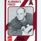 1989 Alabama Coke 580 Football #317 Billy Piper - Alabama Crimson Tide