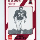 1989 Alabama Coke 580 Football #314 Jack Smalley - Alabama Crimson Tide