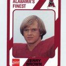 1989 Alabama Coke 580 Football #311 Jerry Brown - Alabama Crimson Tide