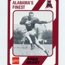 1989 Alabama Coke 580 Football #310 Fred Grant - Alabama Crimson Tide