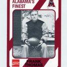 1989 Alabama Coke 580 Football #305 Frank Thomas CO - Alabama Crimson Tide