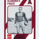 1989 Alabama Coke 580 Football #297 Charley Boswell - Alabama Crimson Tide