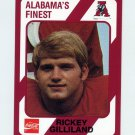 1989 Alabama Coke 580 Football #288 Rickey Gilliland - Alabama Crimson Tide