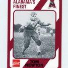 1989 Alabama Coke 580 Football #286 Tom Newton - Alabama Crimson Tide