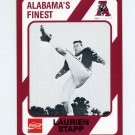 1989 Alabama Coke 580 Football #282 Laurien Stapp - Alabama Crimson Tide