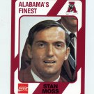 1989 Alabama Coke 580 Football #280 Stan Moss - Alabama Crimson Tide