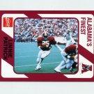 1989 Alabama Coke 580 Football #275 Linnie Patrick - Alabama Crimson Tide