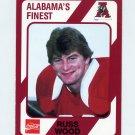 1989 Alabama Coke 580 Football #272 Russ Wood - Alabama Crimson Tide