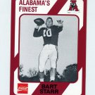 1989 Alabama Coke 580 Football #267 Bart Starr - Alabama Crimson Tide