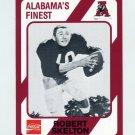 1989 Alabama Coke 580 Football #265 Robert Skelton - Alabama Crimson Tide