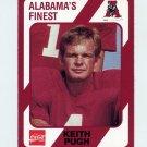 1989 Alabama Coke 580 Football #251 Keith Pugh - Alabama Crimson Tide