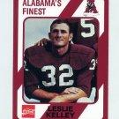 1989 Alabama Coke 580 Football #247 Leslie Kelley - Alabama Crimson Tide